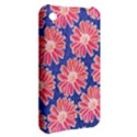 Pink Daisy Pattern Apple iPhone 3G/3GS Hardshell Case View2