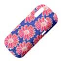 Pink Daisy Pattern HTC Amaze 4G Hardshell Case  View4