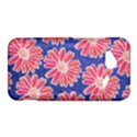 Pink Daisy Pattern HTC Droid Incredible 4G LTE Hardshell Case View1