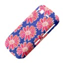 Pink Daisy Pattern HTC Desire S Hardshell Case View4