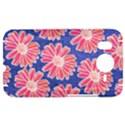 Pink Daisy Pattern HTC Desire HD Hardshell Case  View1