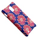 Pink Daisy Pattern Samsung Infuse 4G Hardshell Case  View5