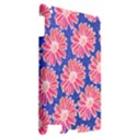 Pink Daisy Pattern Apple iPad 2 Hardshell Case View2