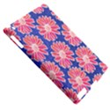Pink Daisy Pattern Apple iPad 2 Hardshell Case (Compatible with Smart Cover) View5