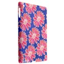 Pink Daisy Pattern Apple iPad 3/4 Hardshell Case (Compatible with Smart Cover) View2