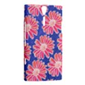 Pink Daisy Pattern Sony Xperia S View2