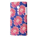Pink Daisy Pattern Sony Xperia ion View3