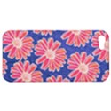 Pink Daisy Pattern Apple iPhone 5 Hardshell Case View1