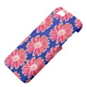 Pink Daisy Pattern Apple iPhone 5 Hardshell Case View4