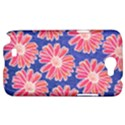 Pink Daisy Pattern Samsung Galaxy Note 2 Hardshell Case View1