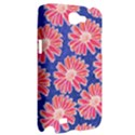 Pink Daisy Pattern Samsung Galaxy Note 2 Hardshell Case View2