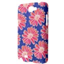 Pink Daisy Pattern Samsung Galaxy Note 2 Hardshell Case View3