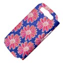 Pink Daisy Pattern Samsung Galaxy S III Hardshell Case (PC+Silicone) View4