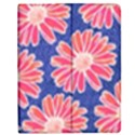 Pink Daisy Pattern Apple iPad 2 Flip Case View1