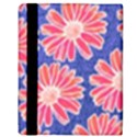 Pink Daisy Pattern Apple iPad 2 Flip Case View3