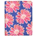 Pink Daisy Pattern Apple iPad Mini Flip Case View1