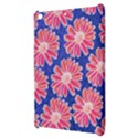 Pink Daisy Pattern Apple iPad Mini Hardshell Case View3