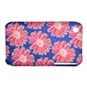 Pink Daisy Pattern Apple iPhone 3G/3GS Hardshell Case (PC+Silicone) View1