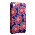 Pink Daisy Pattern Apple iPhone 3G/3GS Hardshell Case (PC+Silicone) View2