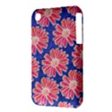 Pink Daisy Pattern Apple iPhone 3G/3GS Hardshell Case (PC+Silicone) View3