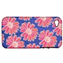 Pink Daisy Pattern Apple iPhone 4/4S Hardshell Case (PC+Silicone) View1