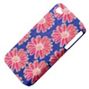 Pink Daisy Pattern Apple iPhone 4/4S Hardshell Case (PC+Silicone) View4