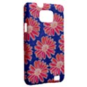 Pink Daisy Pattern Samsung Galaxy S II i9100 Hardshell Case (PC+Silicone) View2