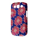 Pink Daisy Pattern Samsung Galaxy S III Classic Hardshell Case (PC+Silicone) View3