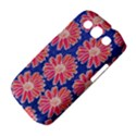 Pink Daisy Pattern Samsung Galaxy S III Classic Hardshell Case (PC+Silicone) View4