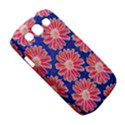Pink Daisy Pattern Samsung Galaxy S III Classic Hardshell Case (PC+Silicone) View5