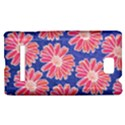 Pink Daisy Pattern HTC 8S Hardshell Case View1