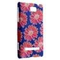 Pink Daisy Pattern HTC 8S Hardshell Case View2