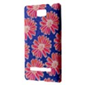 Pink Daisy Pattern HTC 8S Hardshell Case View3