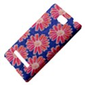 Pink Daisy Pattern HTC 8S Hardshell Case View4