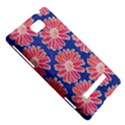 Pink Daisy Pattern HTC 8S Hardshell Case View5