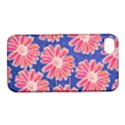 Pink Daisy Pattern Apple iPhone 4/4S Hardshell Case with Stand View1