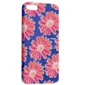 Pink Daisy Pattern Apple iPhone 5 Hardshell Case with Stand View2