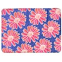 Pink Daisy Pattern Samsung Galaxy Tab 7  P1000 Flip Case View1