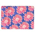 Pink Daisy Pattern Samsung Galaxy Tab 10.1  P7500 Flip Case View1