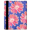 Pink Daisy Pattern Samsung Galaxy Tab 10.1  P7500 Flip Case View2