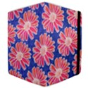 Pink Daisy Pattern Samsung Galaxy Tab 10.1  P7500 Flip Case View4