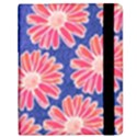 Pink Daisy Pattern Samsung Galaxy Tab 8.9  P7300 Flip Case View2