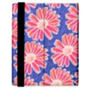 Pink Daisy Pattern Samsung Galaxy Tab 8.9  P7300 Flip Case View3