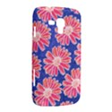 Pink Daisy Pattern Samsung Galaxy Duos I8262 Hardshell Case  View2