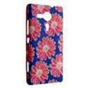 Pink Daisy Pattern Sony Xperia SP View2