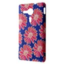 Pink Daisy Pattern Sony Xperia SP View3