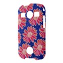 Pink Daisy Pattern Samsung Galaxy S7710 Xcover 2 Hardshell Case View3