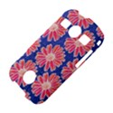 Pink Daisy Pattern Samsung Galaxy S7710 Xcover 2 Hardshell Case View4