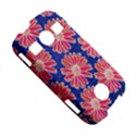 Pink Daisy Pattern Samsung Galaxy S7710 Xcover 2 Hardshell Case View5