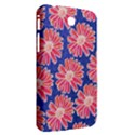 Pink Daisy Pattern Samsung Galaxy Tab 3 (7 ) P3200 Hardshell Case  View2